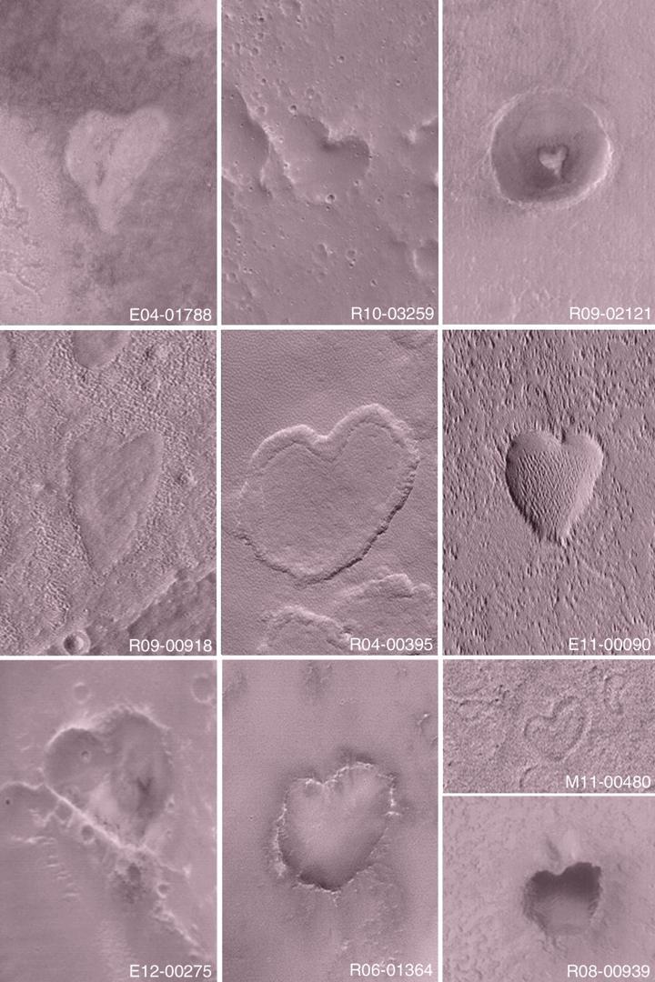 Valentinsgrüße Vom Mars