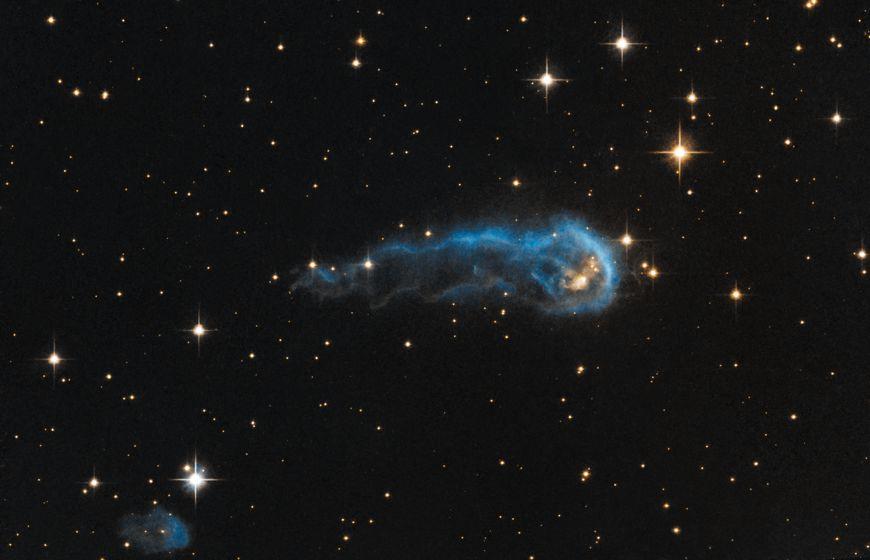 Bild des Tages - 13. September 2013: Kosmische Raupe