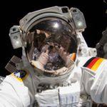 Weltraum-Selfie
