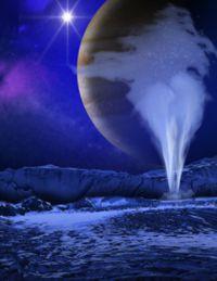 Hubble: Wasserfontänen auf Jupitermond Europa?