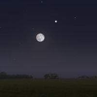 Mond - Saturn