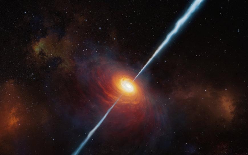 Quasare: Entferntester Quasar im jungen Universum - AstroNews